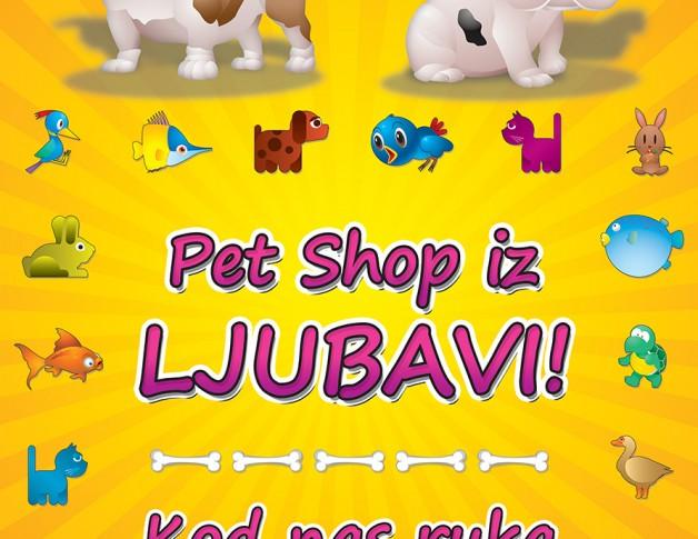 Pet Shop Bulldog - Tabla 2 STAMPA