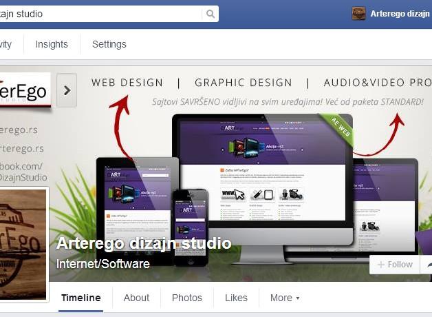 ARTerEgo Facebook page