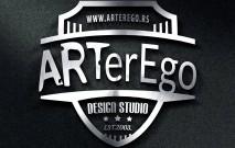 ARTerEgo - redizajn logoa