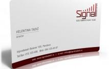 Signal vizitka