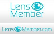 Lens Member logo dizajn